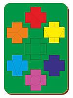 Головоломка «Чудо крестики», ур.2, размер 195*275 мм, арт. 083102