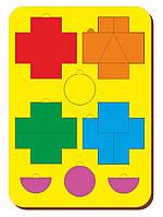Головоломка «Чудо крестики», ур.1, размер 195*275 мм, арт. 083101