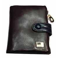 Женские кожаные портмоне 12*11 (каштан)