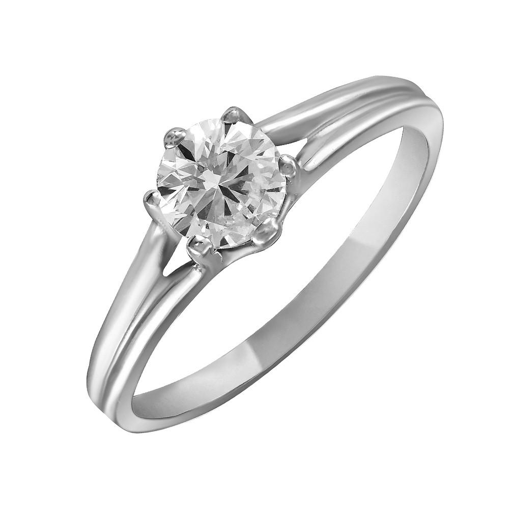 Кольцо из серебра с куб. циркониями 1750311,