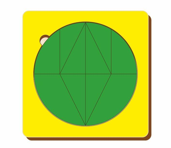 Головоломка «Волшебный круг», размер 140*140 мм, арт. 083208