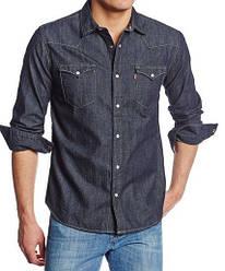 Джинсовая рубашка Levis Barstow Western - Dark Rinse