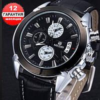 Кварцевые часы Megir (black)