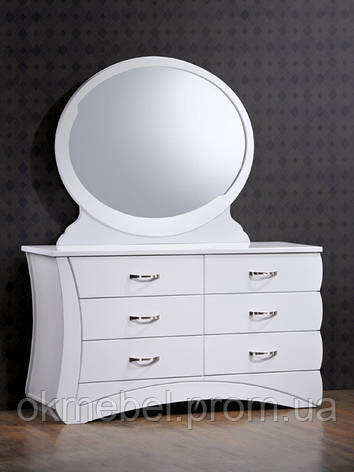 "Будуарный столик + зеркало ""Эвита"", фото 2"