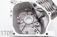 Блок бензинового двигателя 168f