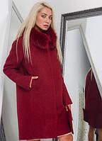 Стильное зимнее женское пальто (разные цвета)