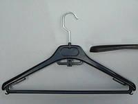 Плечики вешалки пластмассовые Marc-Th MOD-40  черные, 40 см