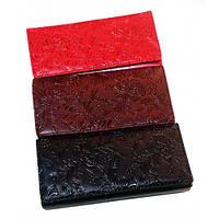 Кожаные женские кошельки 19*9 (3 цвета)