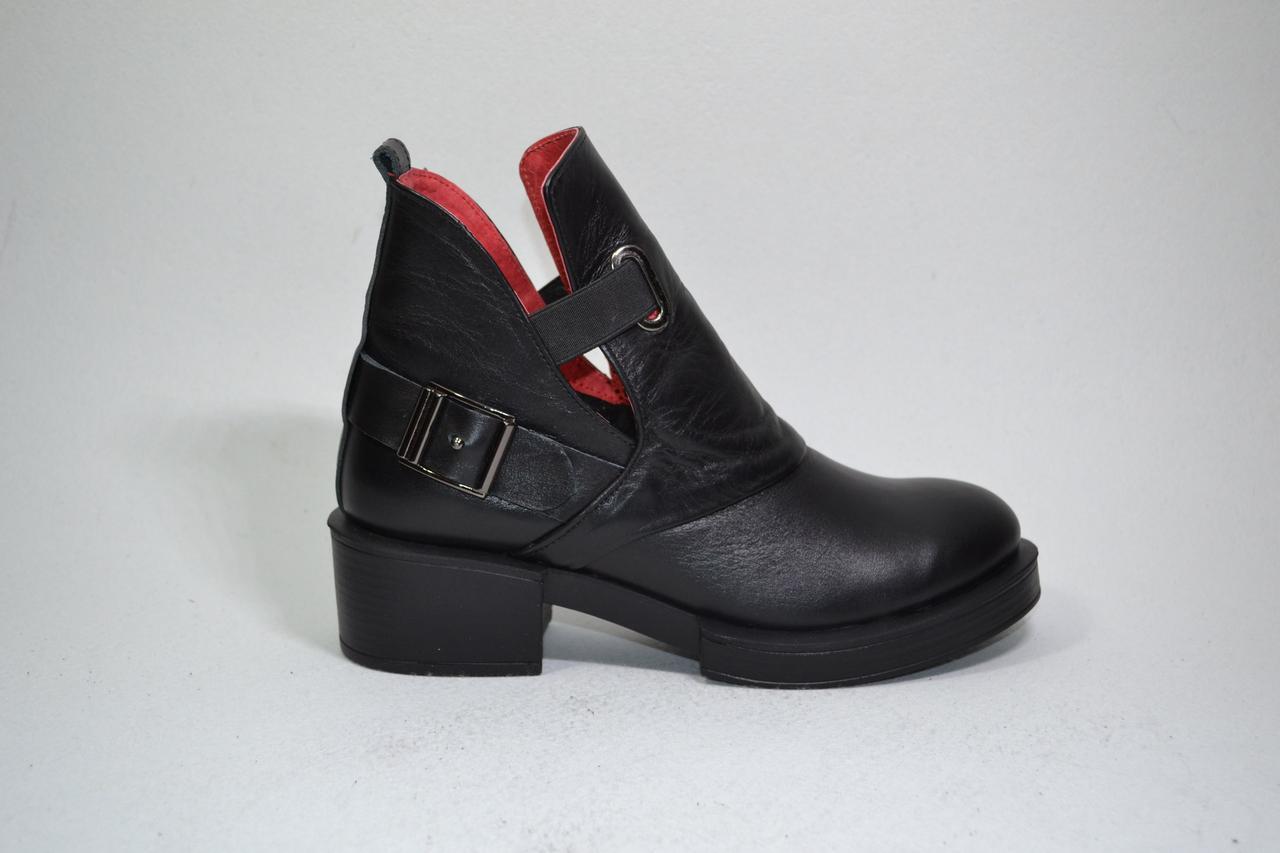 Женские кожаные ботинки, возможен отшив в других цветах кожи и замша