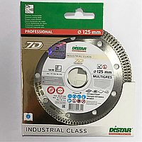 Алмазный отрезной диск Distar 1A1R 125x1,4x10x22,23 Multigres 7D