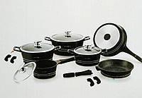 Набор посуды Royalty Line ES-1014M black