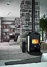 Отопительная печь-камин длительного горения FLAMINGO MELAND (белый), фото 5
