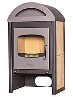 Отопительная печь-камин длительного горения FLAMINGO MELAND (клен)