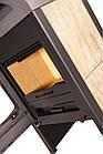 Отопительная печь-камин длительного горения FLAMINGO MELAND (клен), фото 2