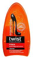 Губка для гладкой кожи Twist Casual Care Черная - 1 шт.