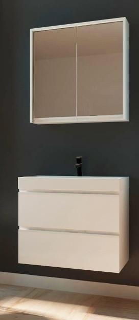 Комплект мебели для ванной (тумба, умывальник,  зеркало) Savona Juventa (Sv-60+SvM-60)