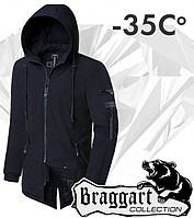 Braggart 'Black Diamond'. Парка зимняя 4050 черная