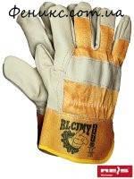 Перчатки защитные усиленные кожей RLCJMY YJ-10,5