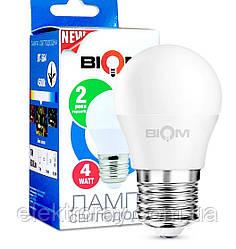 Светодиодная лампа Biom G45 4w E27 3000K