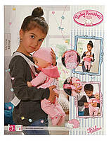 Переноска рюкзак кенгуру для куклы пупса Baby Annabell Беби Анабель Zapf Creation 700334, фото 1