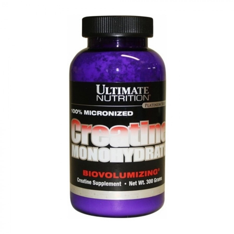 Креатин моногидрат Ultimate nutrition Creatine Monohydrate (300 грамм.)