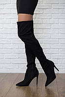 Классические ботфорты Kendall + Kylie с острым носком и каблуком-шпилькой  SH4190