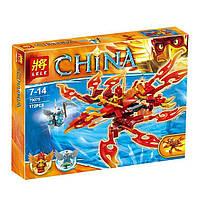 Конструктор Lele серия China 79075 Удивительный Феникс Флинкса (аналог Lego Legends of Chima 70221)