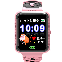 Детские Gps часы Новинка! Q500s Smart Baby Watch  Розовый