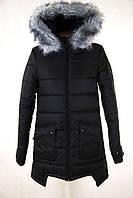 Куртка женская зимняя цвет черный