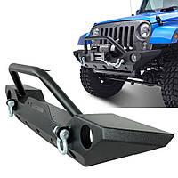 Передний бампер силовой тюнинг Jeep Wrangler JK R3