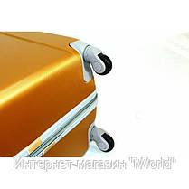 Дорожный чемодан из поликарбоната на 4-х колесах (большая) RGL 883 черного цвета, фото 2