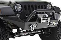 Передний бампер силовой тюнинг Jeep WranglerJK R7