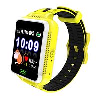 Детские Gps часы Новинка! Q500s Smart Baby Watch  Желтый