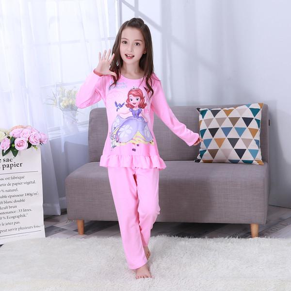 Пижама для девочки трикотаж принцессы с оборочкой