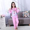 Пижама для девочки трикотаж принцессы с оборочкой, фото 6