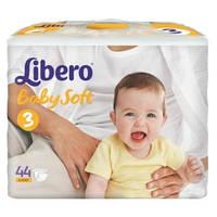 Подгузники baby soft 3 4-9 кг (88шт.) Libero 4634-31
