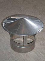 Грибок термо диаметром 160/220 для дымохода из нержавеющей стали марки  AISI 304 толщиной 1 мм