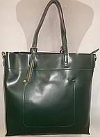 Женская кожаная сумка 1024 Зеленый женские сумки из натуральной кожи купить дешево в Одессе
