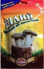 Белый степной гриб 20 деревянных палочек размером 8 * 35 мм, фото 2