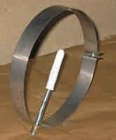 Хомут стеновой для дымохода из нержавеющей стали марки  AISI 304 диаметром 120
