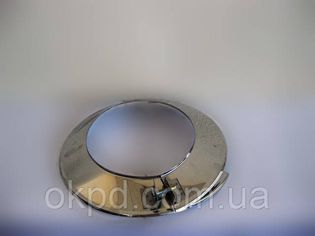 Лейка диаметром 140 для дымохода из нержавеющей стали марки  AISI 304