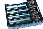 Зарядное устройство LiitoKala Lii-402 для АА, ААА, 18650, 16340 и др. аккумуляторов + Power Bank., фото 5