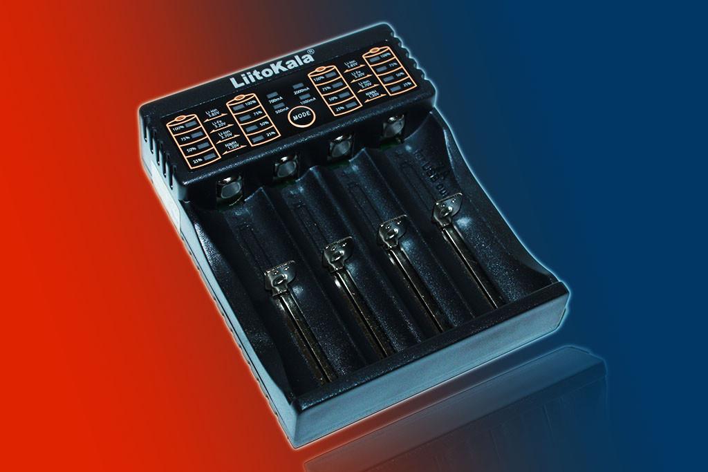 Зарядное устройство LiitoKala Lii-402 для АА, ААА, 18650, 16340 и др. аккумуляторов + Power Bank.