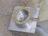 Окончание дымохода из нержавеющей стали марки  AISI 304 диаметром 150 толщиной 1 мм