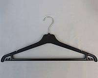 Плечики вешалки пластмассовые Marc-Th  WPN-45 черные, 45 см