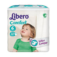 Подгузники baby soft 6 12-22кг (66 шт.) Libero 5532-07
