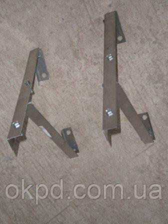 Разгрузочная платформа диаметром 110/180 для дымохода из нержавеющей стали марки  AISI 304