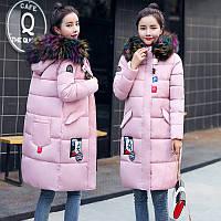 Пуховик - пальто женский. Новейшая модная коллекция. Стиль: Commute) 2017 - 18 г.