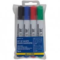 Набор маркеров для доски BM.8800, 4 шт.