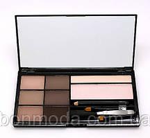 Косметический набор для бровей Cosmetics Brow Artistry Palette Malva (478-1) № 01